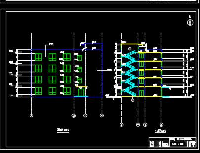 大学4层框架结构教学楼毕业设计