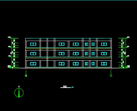 现浇钢筋混凝土框架结构厂房毕业设计(含计算书、图纸)