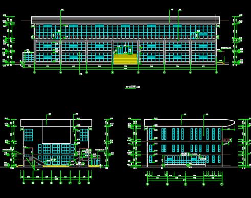 3804.3平米三层框架办公楼工程预算书(含全套CAD图、土建、安装、水电预算书)