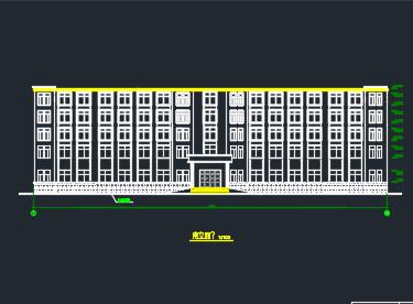 8000平米四层框架商业楼毕业设计(含图纸、计算书)