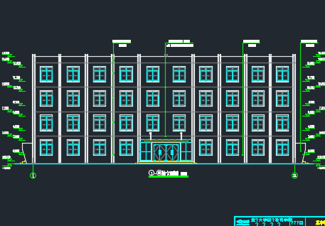 四层框架结构中学教学楼毕业设计(含图纸、计算书)