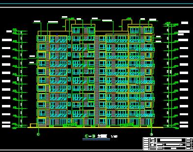 11层带跃层小高层住宅楼毕业设计(含计算书、图纸)