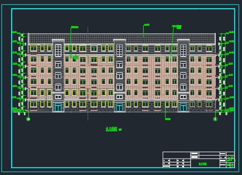 六层框架结构住宅楼毕业设计(含开题报告、任务书、图纸)