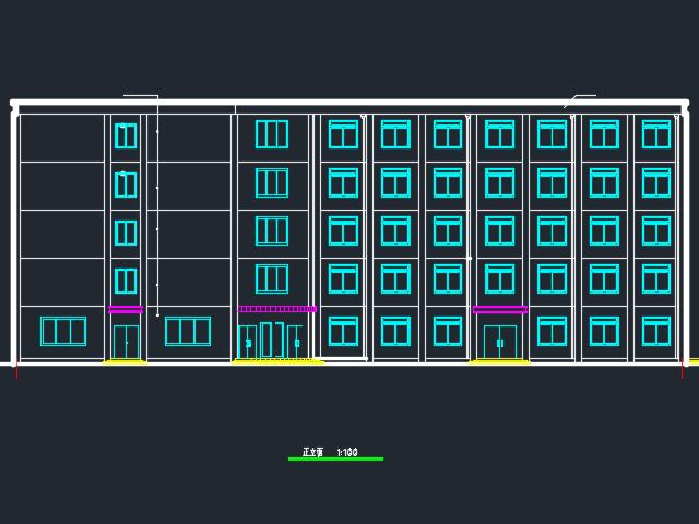 6500平米五层框架结构旅馆毕业设计(计算书、工程量清单、施组、CAD图、优乐娱乐进度表)