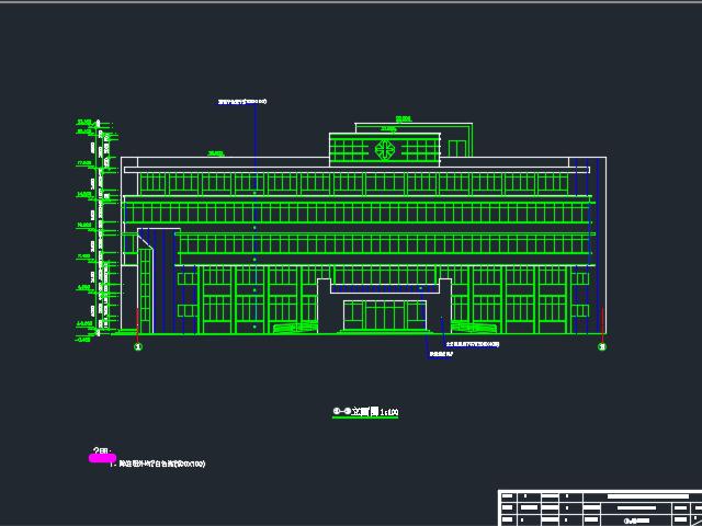 6200平米门诊楼建筑毕业设计(含计算书、图纸、PKPM)