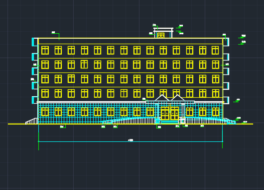 3000平米框架结构办公楼毕业设计(含图纸、开题报告)