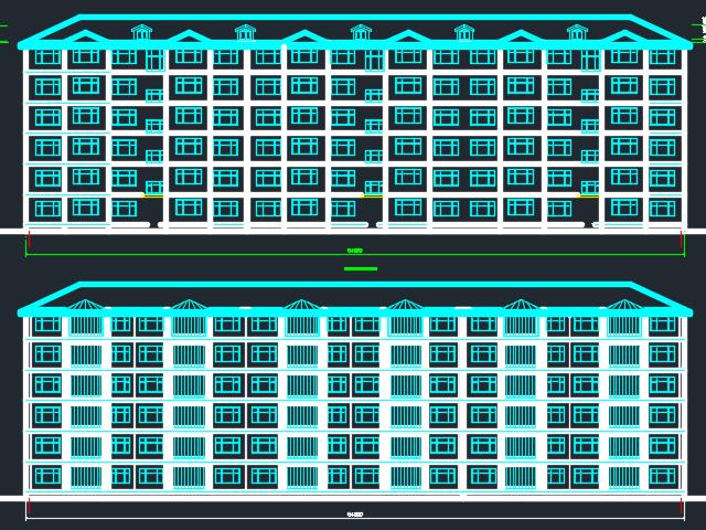 7875平米六层框架结构住宅楼毕业设计(开题报告、图纸、计算书)