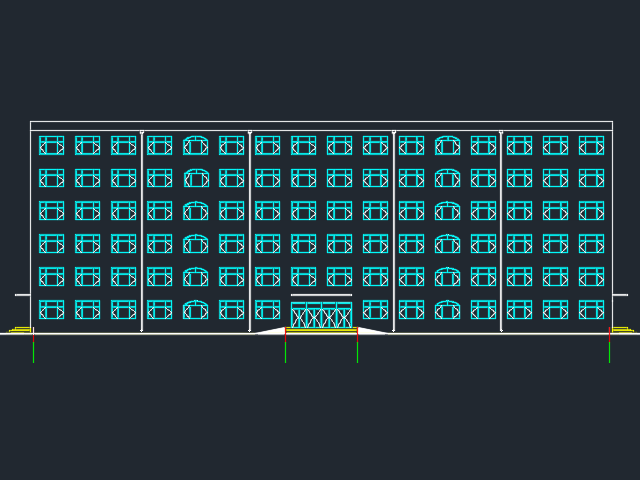 某5800平米六层框架结构宿舍楼毕业设计(含图纸)