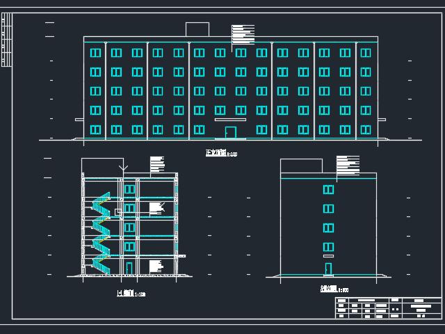 4750.2平米五层框架结构办公楼毕业设计(含图纸)