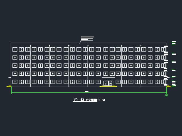 6000平米五层框架结构教学楼毕业设计(含开题报告、图纸、任务书)