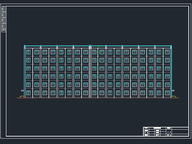 6000平米六层框架结构旅馆毕业设计(含图纸)