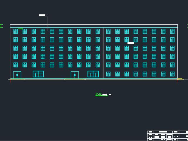 6065平米六层框架结构旅馆毕业设计(含图纸、计算书、开题报告)