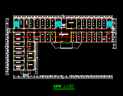 人民医院门急诊综合楼建筑结构毕业pk10计划(计算书和图纸)