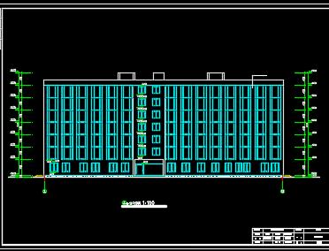 七层框架结构旅馆龙都娱乐网上娱乐(含图纸、计算书、开题报告)