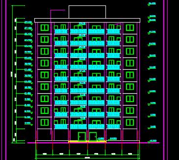 十层框剪结构豪华公寓毕业设计(含图纸、计算书)