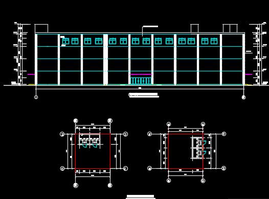 四层框架结构综合楼毕业设计(含图纸、计算书、开题报告)