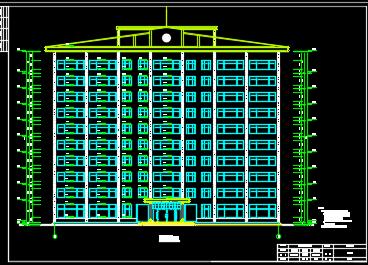 高层办公楼建筑毕业设计(开题报告、图纸)