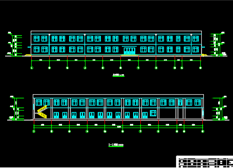 二层综合楼建筑毕业设计(含图纸)