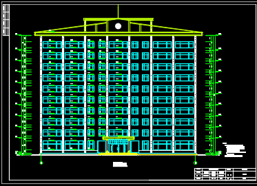 十层框剪结构办公楼毕业设计(含开题报告、图纸)