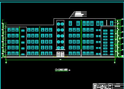 6600平米五层框架结构教学楼毕业设计