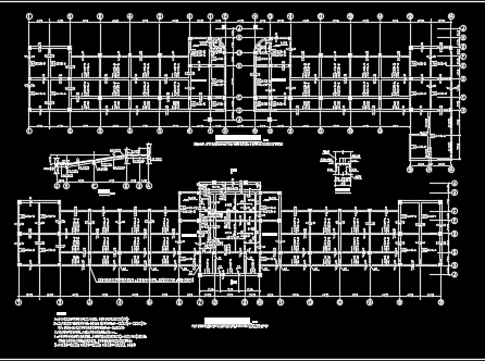 3294.6平米五层框架结构教学楼毕业设计(含工程量计算、图纸)