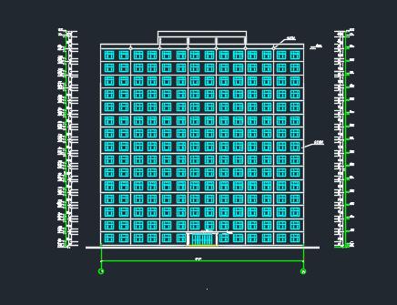 11155平米十五层框剪住宅楼毕业设计(含计算书、预算书、施组、图纸)