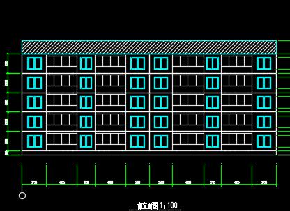 六层砖混结构住宅楼建筑施工图纸