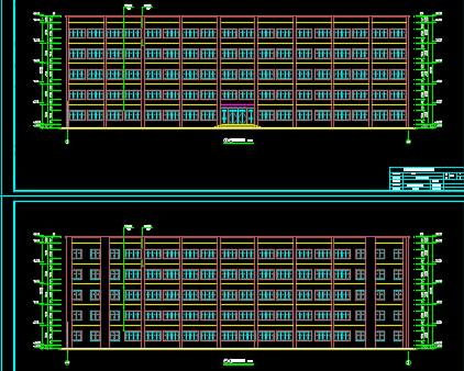 某中学教学楼小鱼儿心水主论坛结构毕业设计(含图纸、计算书)