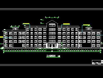 六层框架结构住院楼毕业设计(含计算、图纸)