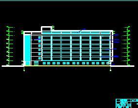8层框架结构办公楼毕业设计(含图纸、施组、计算)