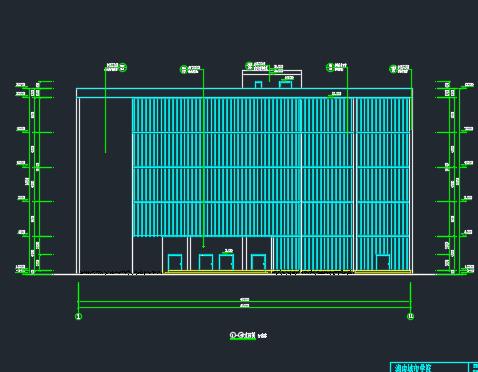 5层框架结构百货大楼毕业设计(设计图、施组、工程量清单、电算)