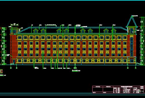 五层框剪结构宿舍楼毕业设计(含图纸)