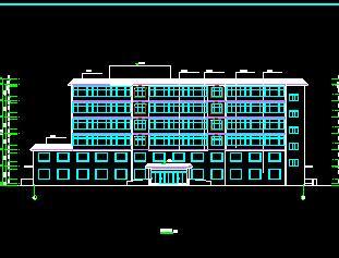 7层框架结构公寓楼毕业设计(含计算书、施组、图纸)