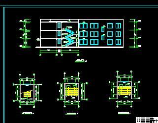 三层框架教学楼毕业设计(含计算、施组及图纸)