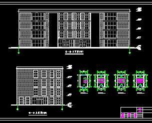 4层框架结构商场毕业设计计算书及图纸