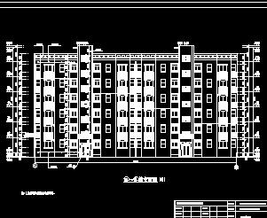 砖混6层住宅楼毕业设计施组及图纸