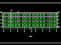 四层框架结构办公楼毕业大润发娱乐游戏(含图纸)