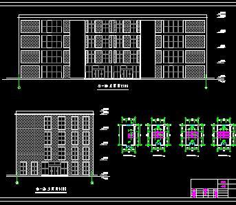 四层框架结构商场毕业设计计算书及图纸