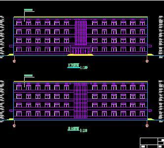 四层框架结构办公楼毕业设计(含计算、图纸及开题)