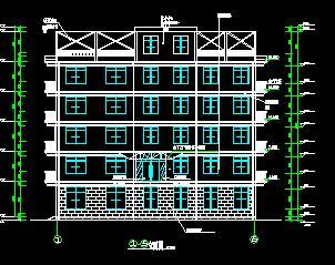 五层框架综合楼毕业大润发娱乐游戏(含计算、施组及图纸)