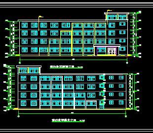 五层框架辅助教学楼毕业设计计算书及图纸