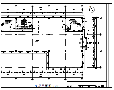 五层钢筋混凝土框架结构工业厂房工程毕业设计(图纸)
