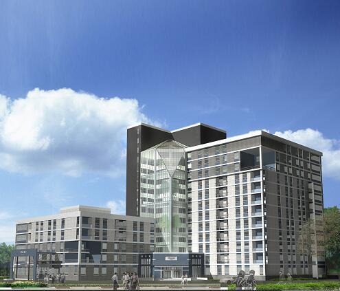 医院病房楼建筑毕业设计方案及设计说明书
