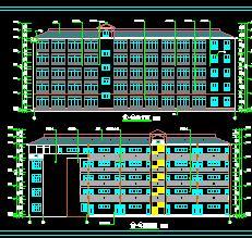 5层框架结构教学楼毕业设计(含图纸、施组及工程计算)