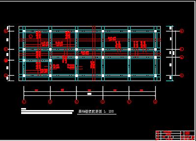 六层框架结构办公楼毕业设计(含计算书、图纸)