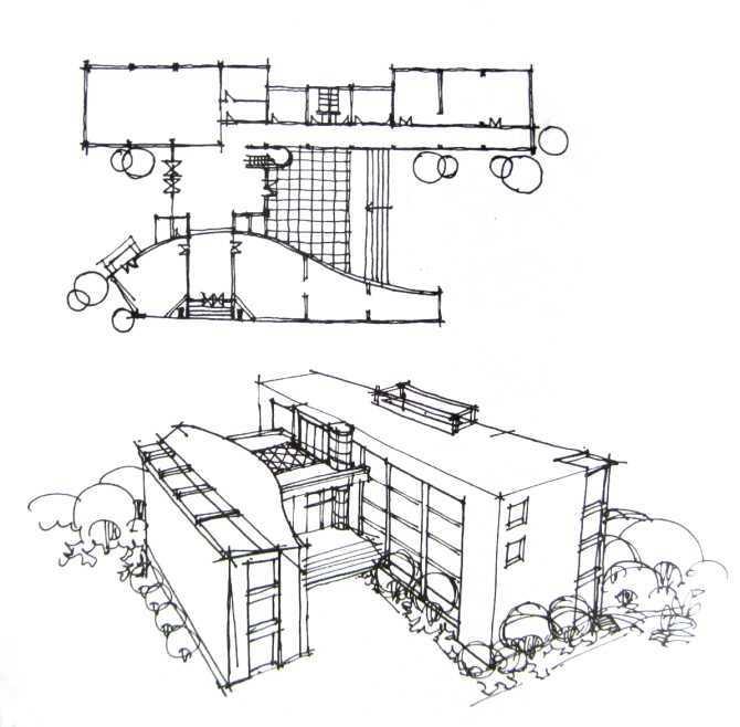 快题 钢笔画免费下载 - 建筑书籍 - 土木工程网