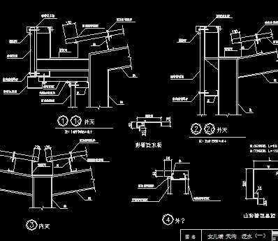 建筑结构图集_cad钢结构建筑构造图集免费下载 - 钢结构 - 土木工程网