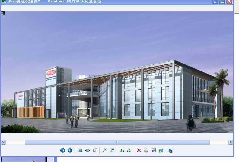 全套办公楼建筑施工图带效果图