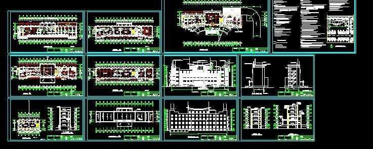 办公楼设计图纸