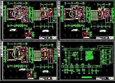 别墅智能化设计图纸